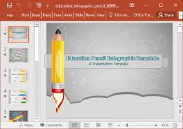 Infographic Presentation Template Animated Education Infographic