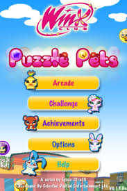 winx club puzzle pets screenshots