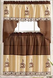 Kitchen Curtain Tiers