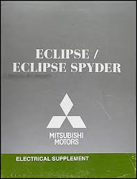 2008 mitsubishi eclipse spyder wiring diagram manual original