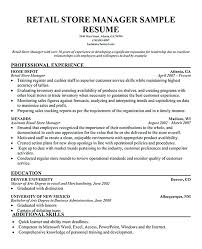 Sample Resume For Retail Manager This Is Retail Supervisor Resume Retail Sales Manager Resume Retail 52