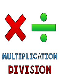 Image result for multiplication and division