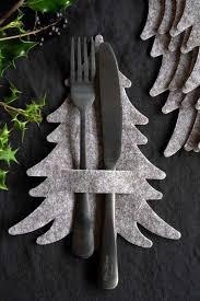 Pin by Kathie Blair on Porta talher | Christmas tree napkins, Felt  christmas tree, Felt christmas