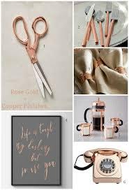 Small Picture DECOR HOME ACCESSORIES IN ROSE GOLD COPPER FINISHES Design