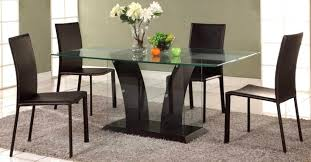 8 extraordinary dining table glass top creative glass top dining room tables rectangular glass dining