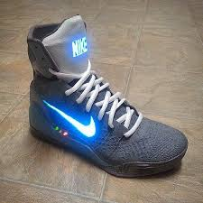 has really taken his led skills to another level making his customs quite unique check out these air mag kobe 9 elites which really speak for themselves