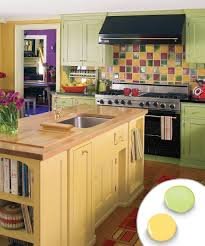 Yellow Painted Kitchen Cabinets Kitchen Bp Hucoh103 After Blue Kitchen Awesome Painted Kitchen