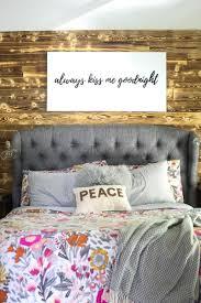diy wood wall in bedroom