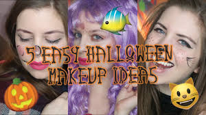 5 easy makeup ideas black cat lace mask ecrow mermaid snapchat dog
