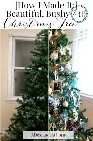 How To Decorate A Designer Christmas Tree Magnificent Get The Most Out Of A Cheap Christmas Tree A Designer At Home