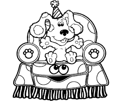 Small Picture Blues clues coloring pages sitting on chair ColoringStar