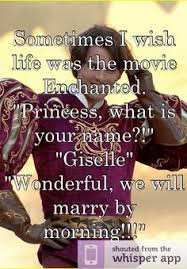 Enchanted Movie on Pinterest | Giselle Enchanted, Maleficent Funny ... via Relatably.com