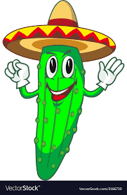 Cartoon Cucumber