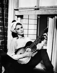 Audrey Hepburn singing 'Moon River' in ...