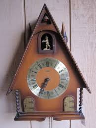 vtg linden germany 8 days cuckoo clock