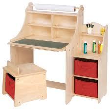 Kids Art Desk With Storage - 5