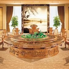 solid wood dining tables and chairs combination of oak wood antique carousel microwave oven electric big round