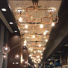 copper pipe lighting system