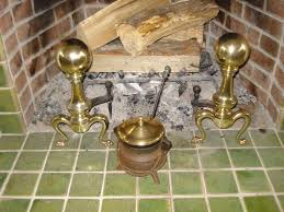 picture of polishing badly tarnished brass