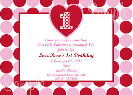 valentines party invitations valentines day birthday party invitation idea with polka dot red and