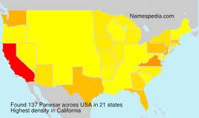 Panesar - Names Encyclopedia