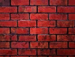 Red brick wall HD wallpaper