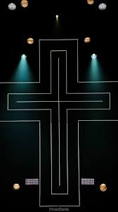 Neon Cross - Phone Wallpaper and Mobile ...