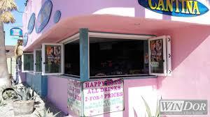 win dor folding windows and baja beach cafe in newport ca