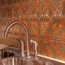 Kitchen Backsplash Panel Fasade 24 In X 18 In Traditional 10 Pvc Decorative Backsplash