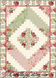 154 best Seasonal Patterns images on Pinterest | Quilt patterns ... & Log Cabin Quilt Pattern (advanced beginner, lap and throw) Adamdwight.com