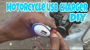 making a motorcycle usb charger with car usb charger honda activa 3g diy