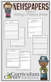 Newspaper Story Template Writing A News Story Template Wonderful Newspapers Part 4 Writing A