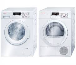 bosch ascenta washer. Beautiful Ascenta Bosch Ascenta 300 Series White Compact Front Load Laundry Pair With  WAP24200UC 24u0026quot Washer And Inside S