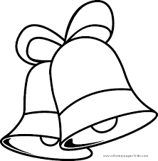 Christmas Bells Christmas Color Page Holiday Coloring Pages Color