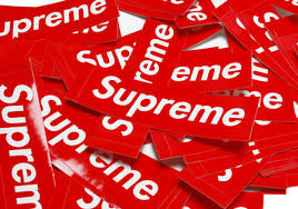 Supreme Clothing Logo Fonts In Use