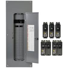 square d homeline 200 amp 40 space 80 circuit indoor main breaker how to wire a load center diagram at Square D Homeline Wiring Diagram