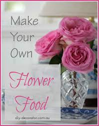 make your own flower food
