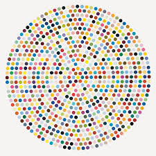 on view now damien hirst s spot paintings and the joy of color