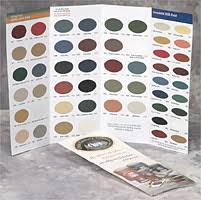 Paint Color Chart Olde Century Colors