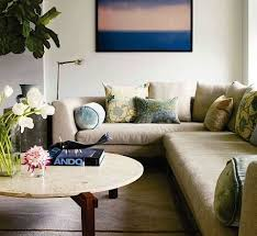 living room decor with sectional. Designer: Rogelio Garcia, Image Via: Elle Decor Living Room With Sectional