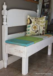 Headboard Bench Plans 25 Headboard Benches How To Make Your Own Fence Styles