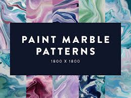 Paint Patterns Cool Free Paint Marble Patterns By Nikki Clark Dribbble