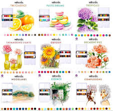 Marketing Color Chart Prima Watercolor Confections Color Chart