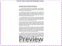 how to write a personal biography essay essay help how to write a personal biography essay how to write a personal essay outline