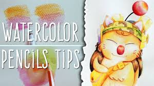 how to use watercolor pencils tips stilzkin speed painting how to use watercolor pencils tips stilzkin speed painting