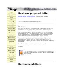 Free Sample Business Proposals 24 Business Proposal Sample Letters Word Excel Pdf Formats Free 6