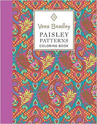 paisley pattern amazon com vera bradley paisley patterns coloring book design