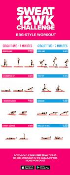 bbg style free workout