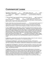 Free Commercial Lease Agreement Forms To Print Commercial Lease Form Inherwake