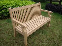 small image of sandwick winawood 2 seater wood effect garden bench teak finish